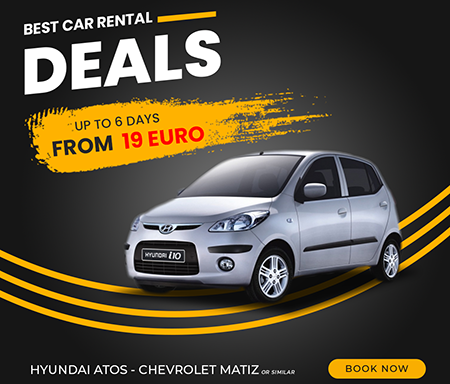 HYUNDAI ATOS - CHEVROLET MATIZ OR SIMILAR UP TO 6 DAYS  FROM  19 EURO